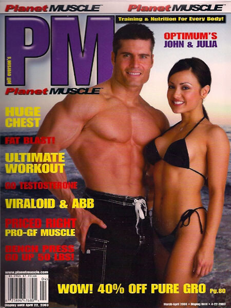 Personal Trainer John Turk of San Diego in Planet Muscle Magazine