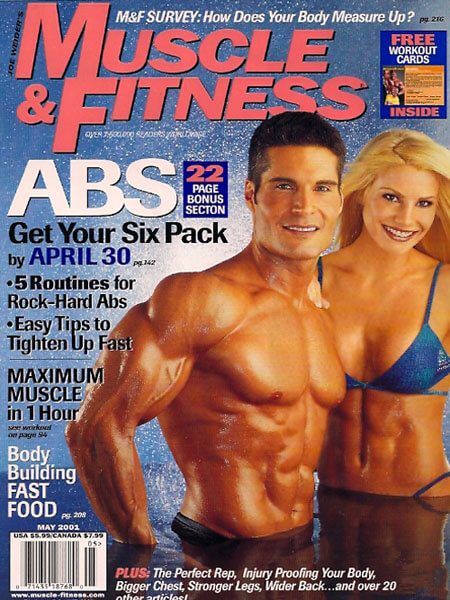 ersonal Trainer John Turk of San Diego in Muscle & Fitness Magazine